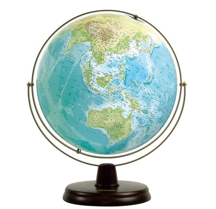 地球儀;衛星地形地球儀 WPNo.3300