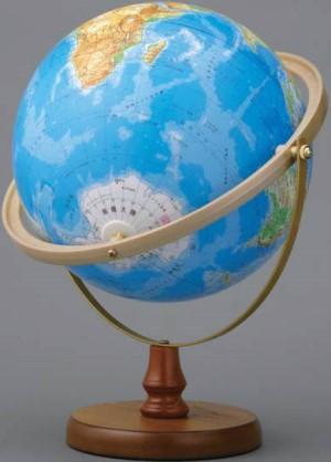 地球儀;中学生;表2