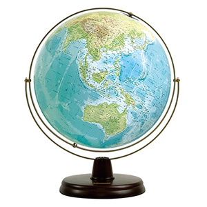 地球儀;中学生;表1